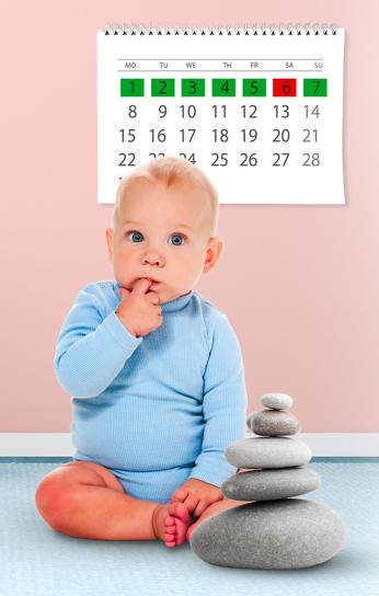 Как диагностировать запор у малыша до 1 года
