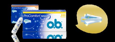 Тампоны o.b.<sup>®</sup>ProComfort™ Night